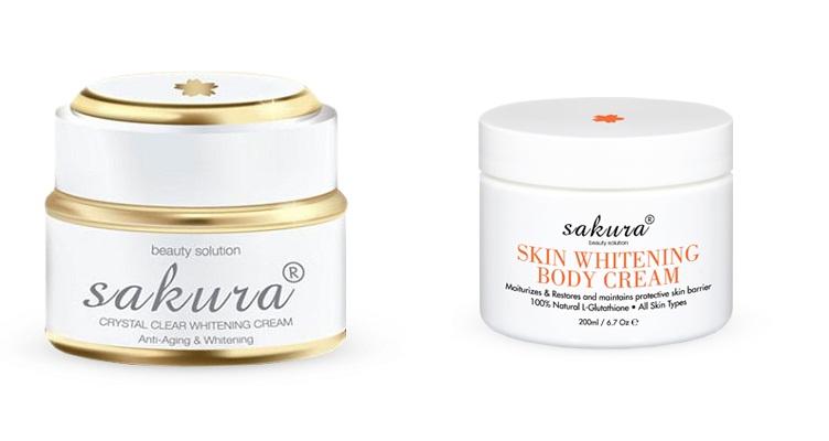 Kem dưỡng trắng da Sakura có giá chính hãng bao nhiêu?