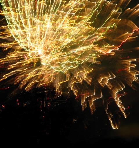 Fireworks -  Jumpin' Jack's 2009 - golden burst