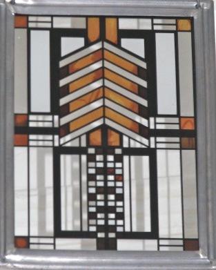 Glass - grains - Frank Lloyd Wright