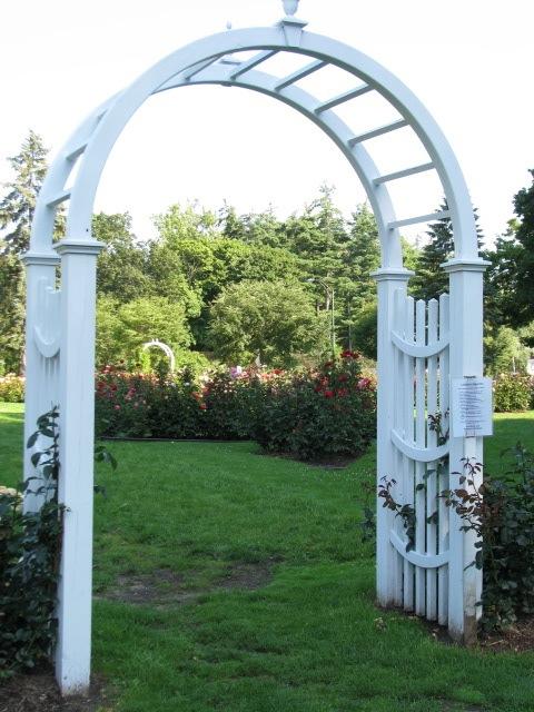 Central Park Rose Garden 2009 - entryway arbor