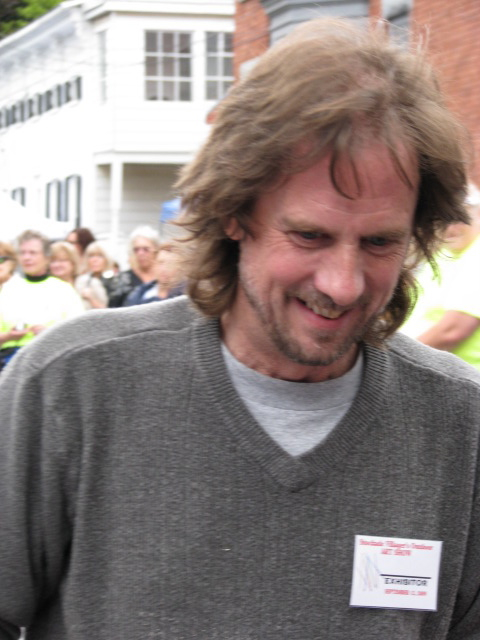 Steve Kowalski with an award-winner's smile - 12Sep09