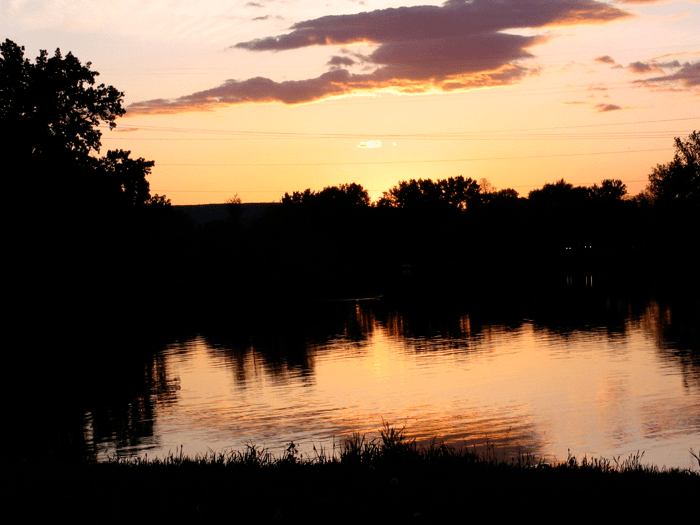 Mohawk River from Riverside Park, Schenectady - 24May08