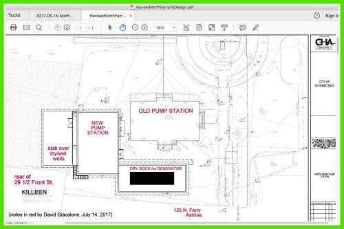 small resolution of compare with the design presented early this year by cha and city water sewer officials which would have taken up most of riverside park s lovely and
