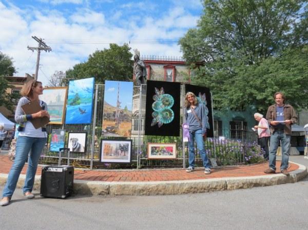 2017 Outdoor Art Show Shines Suns Mohawk
