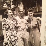 Paul Giammatteo and his sister, Margaret WWII