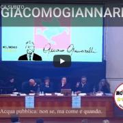 Giacomo Giannarelli Acqua Pubblica Toscana