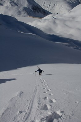 Grieshorn scialpinismo - canale nord (10)