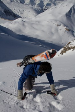 Grieshorn scialpinismo - canale nord (11)