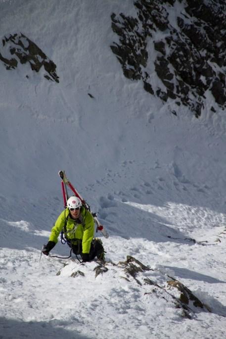 7 pizzo bernina scialpinismo direttissima canale sud sci mountainspace giacomo longhi (11)