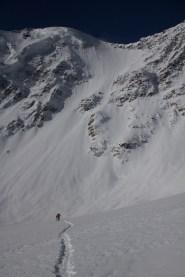 Fletschorn discesa sci parete nord via viennesi scialpinismo sci ripido giacomo jack longhi mountainspaceIMG_4690
