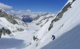 pizzo del ferro orientale sci ripido discesa sci capanna albigna mountainspace (9)