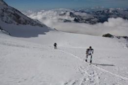 Scialpinismo monte rosa monte rosa highway skialper capanna margherita giacomo longhi mountainspace vincent parrot corno nero balmenhorn zumstein - (7)