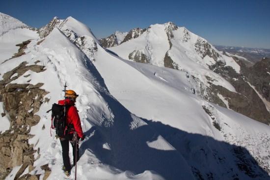 Piz Palu - quarto sperone - palu bernina soresini kuffner alpinismo diavolezza cambrena giacomo longhi mountainspace marco ballerini giorgio colzani (26)