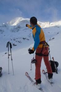 Piz morteratsch via zippert sci boval tschierva mountainspace giacomo longhi marco ballerini scialpinismo engadina bernina valentino cividini spraunza (2)