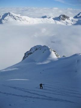 Piz morteratsch via zippert sci boval tschierva mountainspace giacomo longhi marco ballerini scialpinismo engadina bernina valentino cividini spraunza (26)