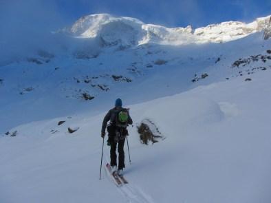 Piz morteratsch via zippert sci boval tschierva mountainspace giacomo longhi marco ballerini scialpinismo engadina bernina valentino cividini spraunza (3)