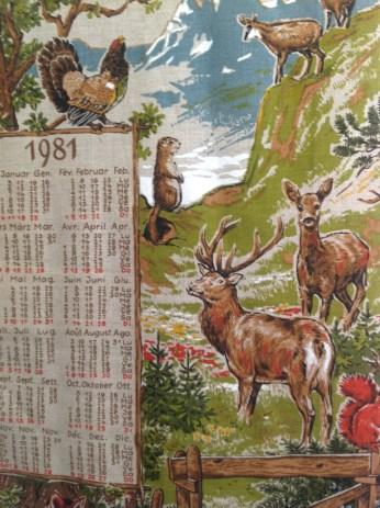 7 Calendario 1981