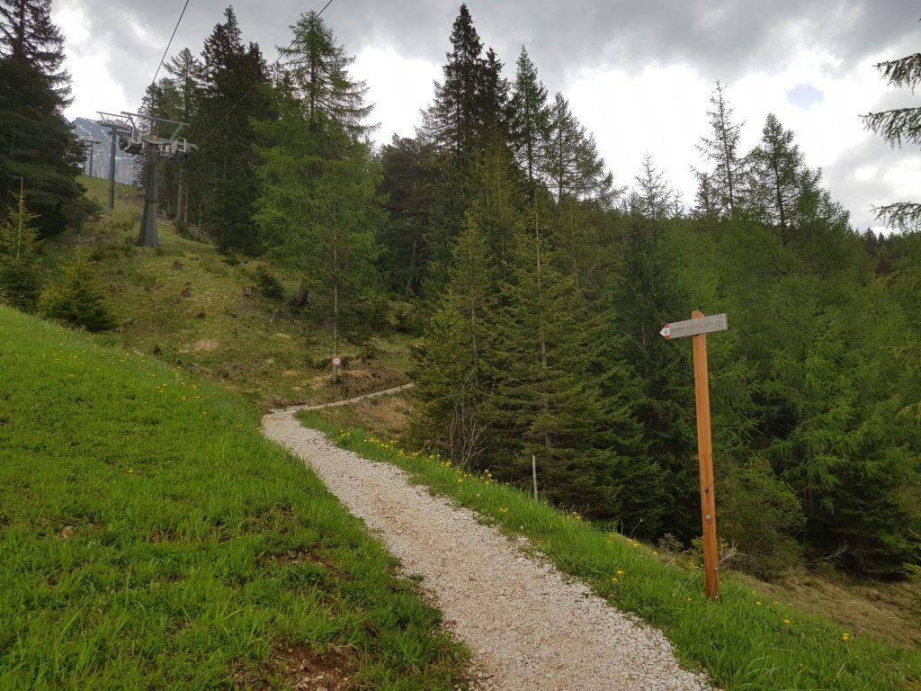 malga frommer sentiero