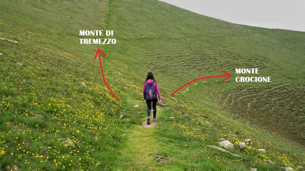 Bivio Monte Crocione e Monte di Tremezzo