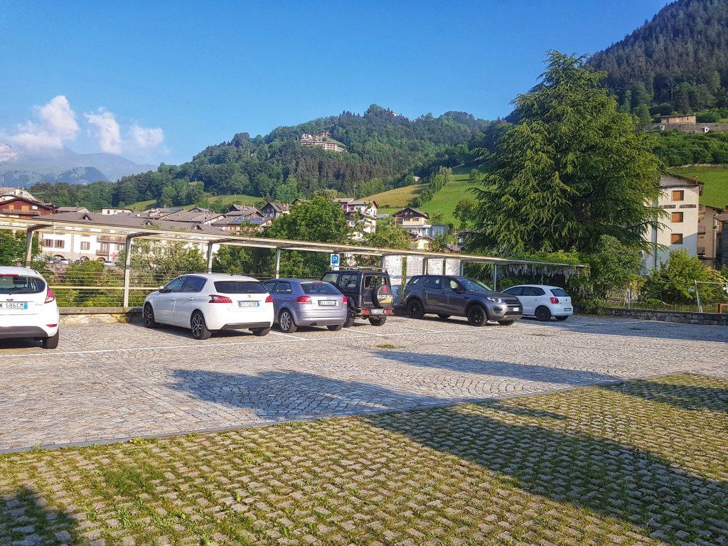 Parcheggio Diga del Gleno