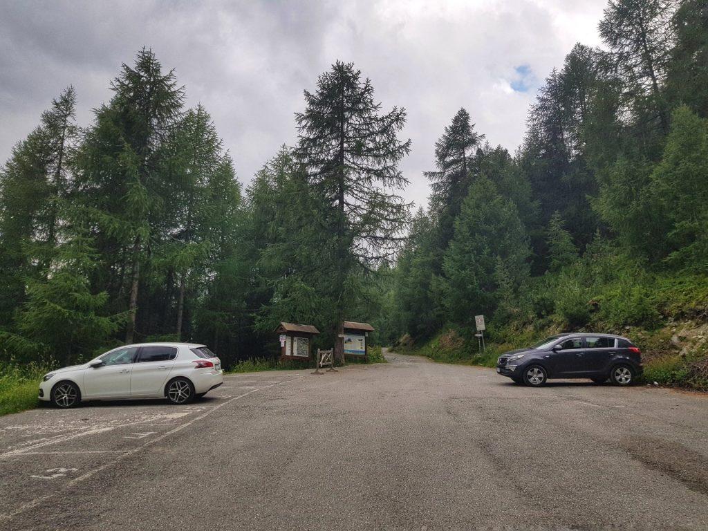 Parcheggio Altumera Val Viola