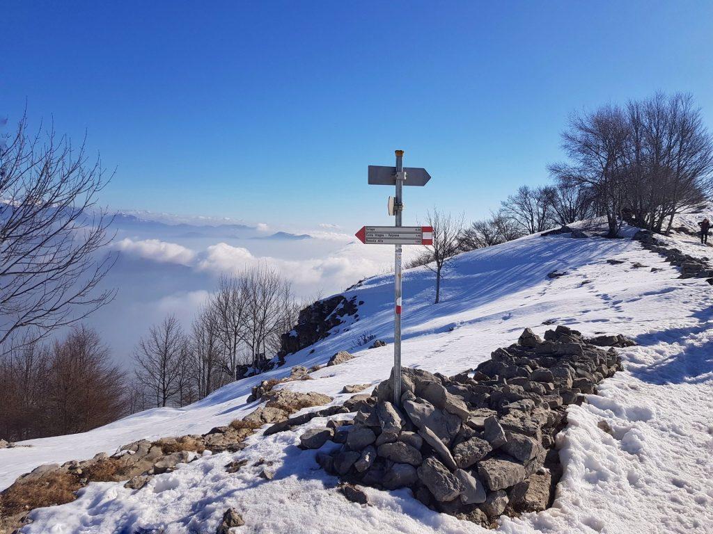 Deviazione Valcava Monte Linzone