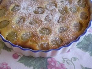 torta d'uva bianca