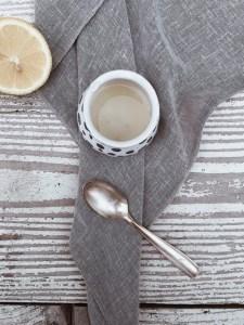 scrub allo zucchero di canna e limone
