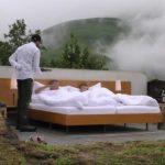 Khách sạn 'ngàn sao' ở Thụy Sĩ đắt khách vì không trần, không tường