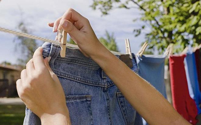 5 sai lầm khi phơi quần áo khiến vi khuẩn tăng thêm rất nhiều lần
