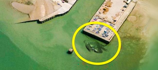 Nhờ Google maps người ta nhìn thấy những hình ảnh này trên Trái đất - Ảnh 10.