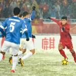 Trận chiến trên tuyết của đội U23 và sự bất công mà Việt Nam, Thái Lan cùng gánh chịu