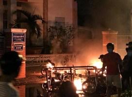 102 người đập phá trụ sở UBND tỉnh Bình Thuận bị bắt