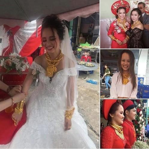 Người thân của cô dâu Hậu Giang chính thức lên tiếng về sự thật việc cháu mình được trao 129 cây vàng làm của hồi môn - Ảnh 1.