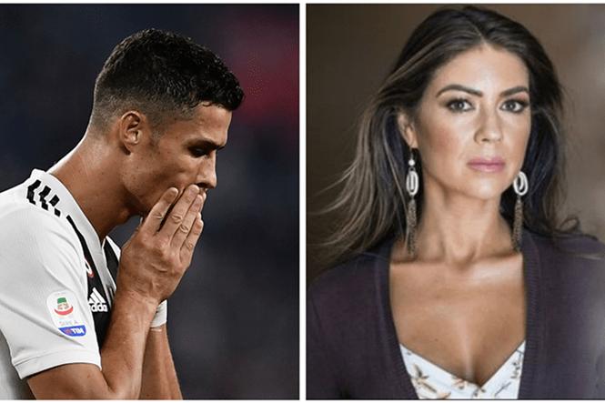 Cristiano Ronaldo đối mặt với rắc rối sau khi dính đến vụ tấn công tình dục một phụ nữ tên Kathryn Mayorga (phải) /// CHỤP MÀN HÌNH