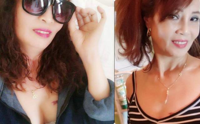 """Cô dâu 62 tuổi đăng ảnh lộ ngực táo bạo, tuyên bố: """"Hãy làm những gì mình muốn"""""""