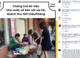 Cuộc sống vợ chồng anh bán xôi ở Hà Nội đảo lộn vì bị hiểu lầm kiếm được 100 triệu/ tháng