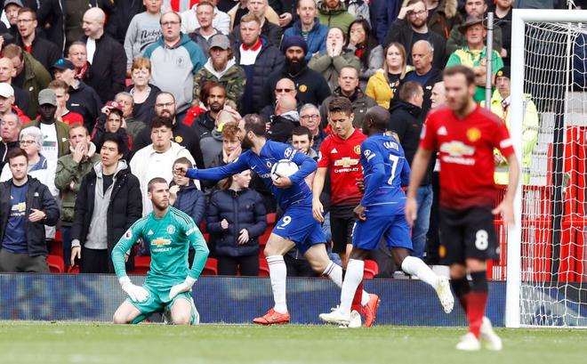 Sai lầm chết người, David de Gea phá tan đêm huyền diệu trên Old Trafford của Man United