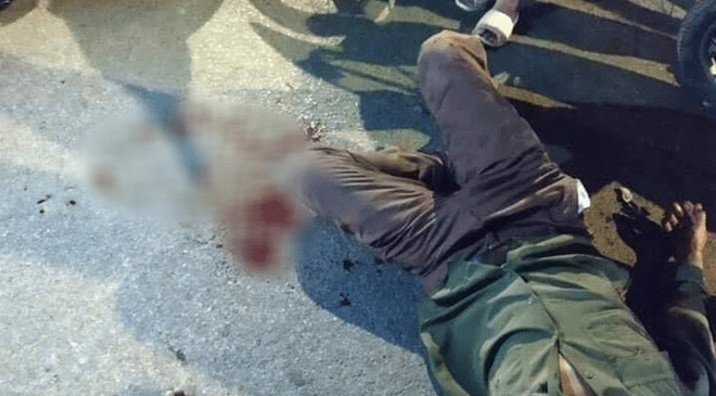 Hà Nội: Gây tai nạn khiến người lái xe ôm gục giữa đường, tài xế ô tô tăng ga bỏ chạy