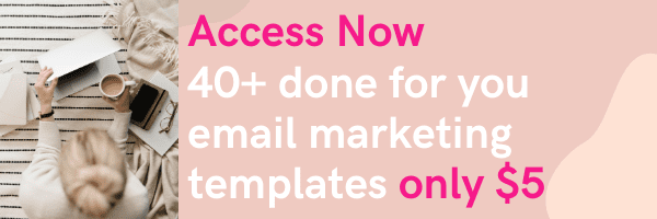 done for you email marketing templates