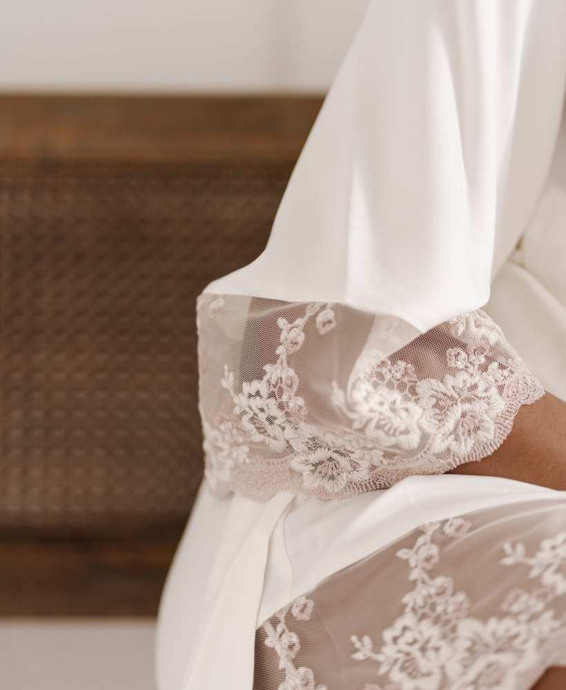 gia dixon satin robe dressing gown haul