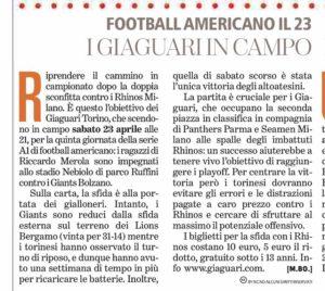 22/04/2016 - La Stampa Torino Sette