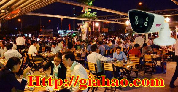 Camera quan sát nhà hàng WIT-2504DMA10 của công ty Tin Học Gia Hào  cũng được cá quán ăn, khu ẩm thực ưa chuộng do có xuất xứ Đài Loan, chất lượng được đảm bảo