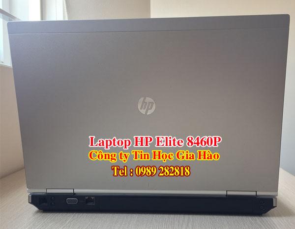 Máy tính xách tay HP Elite 8460P Core i5 giá rẻ đã qua sử dụng của công ty Tin Học Gia Hào có kiểu dáng sang trong và mang tính chuyên nghiệp cao