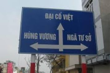 Các loại biển báo giao thông