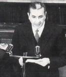 Aldo Moro presenta alla Camera dei deputati il primo governo di centro-sinistra (1963) - http://archiviofoto.unita.it/