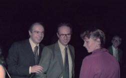 con il fratello Giorgio e la cognata Donatella