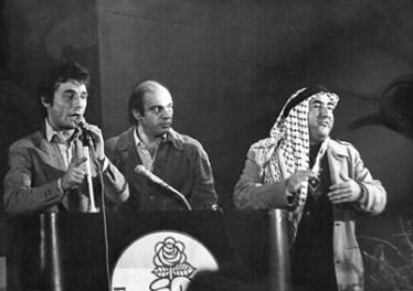 Con Mario Appignani e Maisto a un congresso radicale degli anni '70