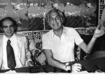 conferenza stampa con Pannella