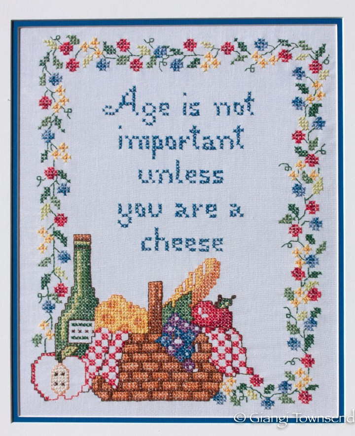 Age Is Not Important Unless You Are A Cheese